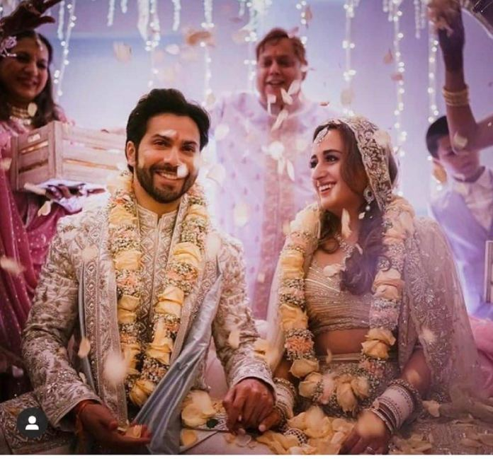 It's Official! Varun Dhawan Marries Natasha Dalal, Couple Shares First Pictures – View Posts