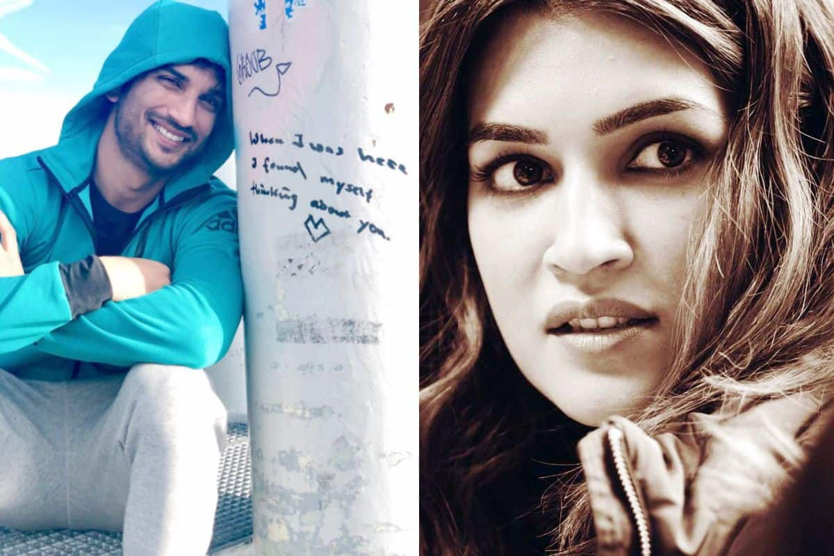 Kriti Sanon Remembers SSR With Adorable Post, Says