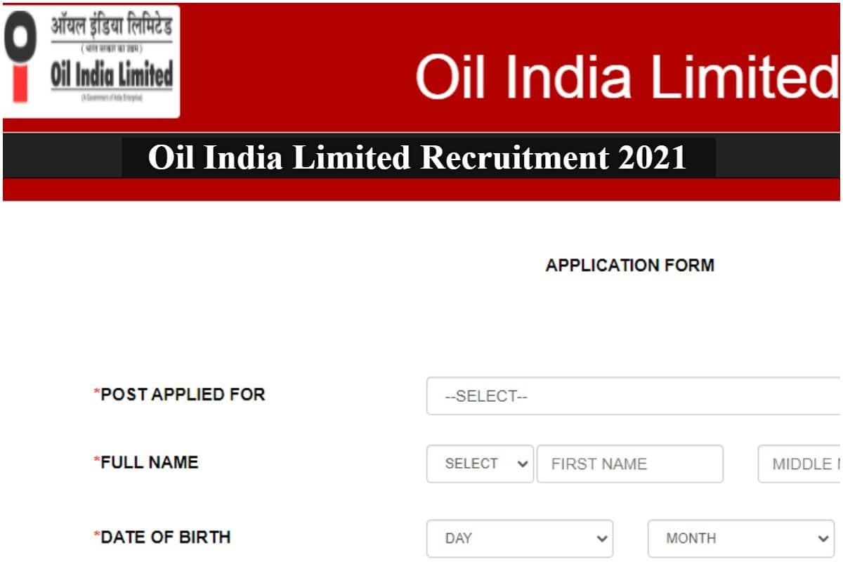 Oil India Recruitment 2021: Apply Today For 119 Assistant Mechanic, Other Posts