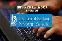 IBPS RRB Officers Scale 1 Result 2020 Declared at ibps.in
