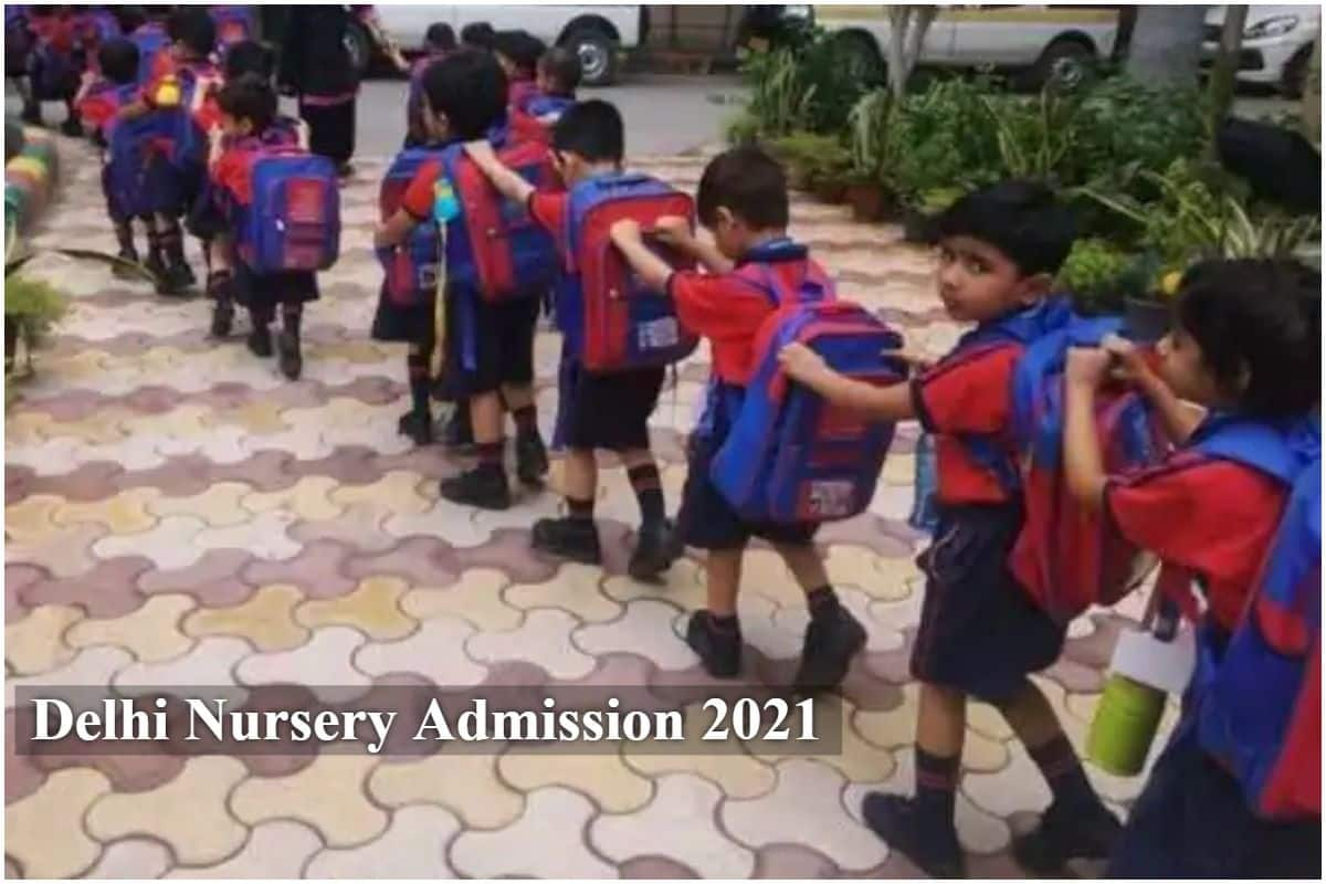 Delhi Nursery Admission 2021: First Merit List To Be Out Tomorrow