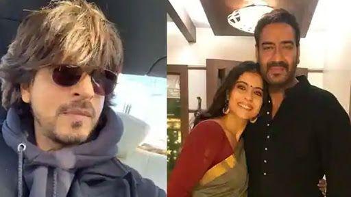 Shah Rukh Khan, Ajay Devgn Feature in New Pan Masala Ad, Fans Begin Hilarious Meme Fest