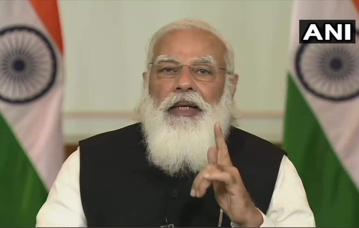 PM Modi at Virtual Summit