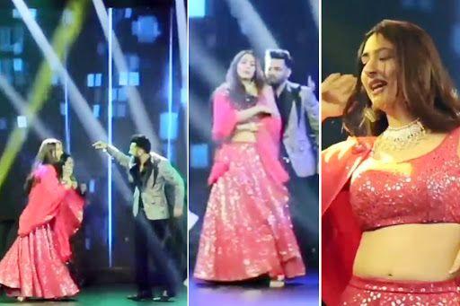 Rahul Vaidya, Disha Parmar Dance To Shah Rukh Khan