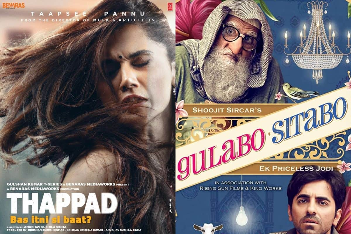 Thappad And Gulabo Sitabo Win Big, Take All Major Awards