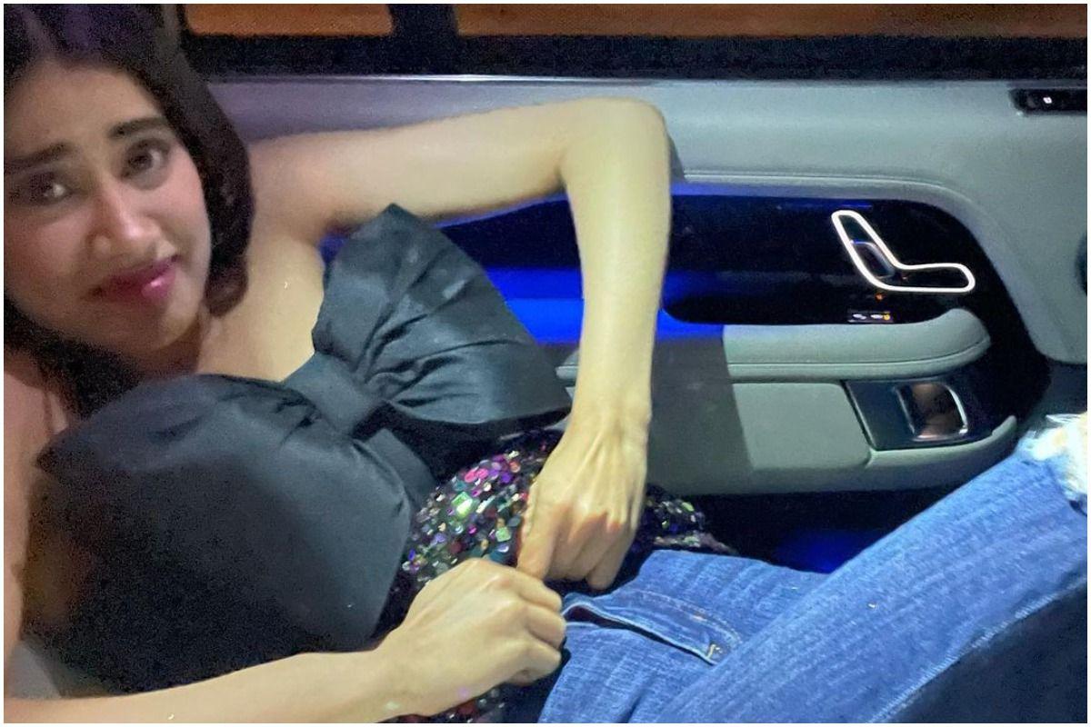 Janhvi Kapoor Struggles to Change Clothes Inside Her Car, Posts a Picture on Instagram