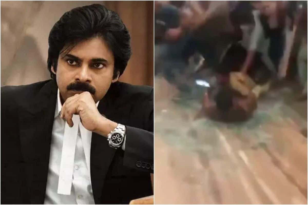 Pawan Kalyan Fans go Berserk at Vakeel Saab Trailer Launch in Andhra Pradesh, Chaos Recorded on Video