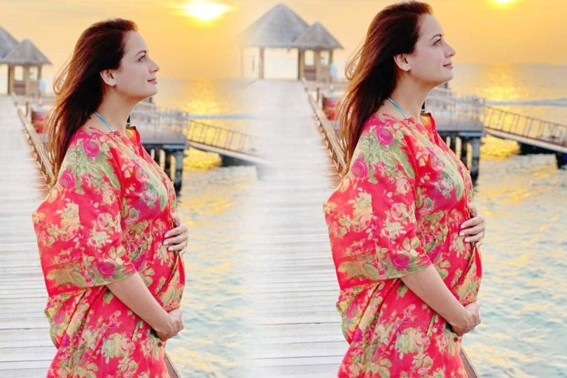 Dia Mirza Announces Pregnancy, Shares News With a Sun-Dappled Picture On Social Media