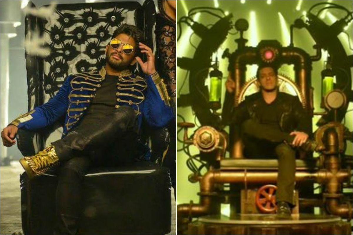 Netizens Accuse Salman Khan of Copying Allu Arjun Seeti Maar Song