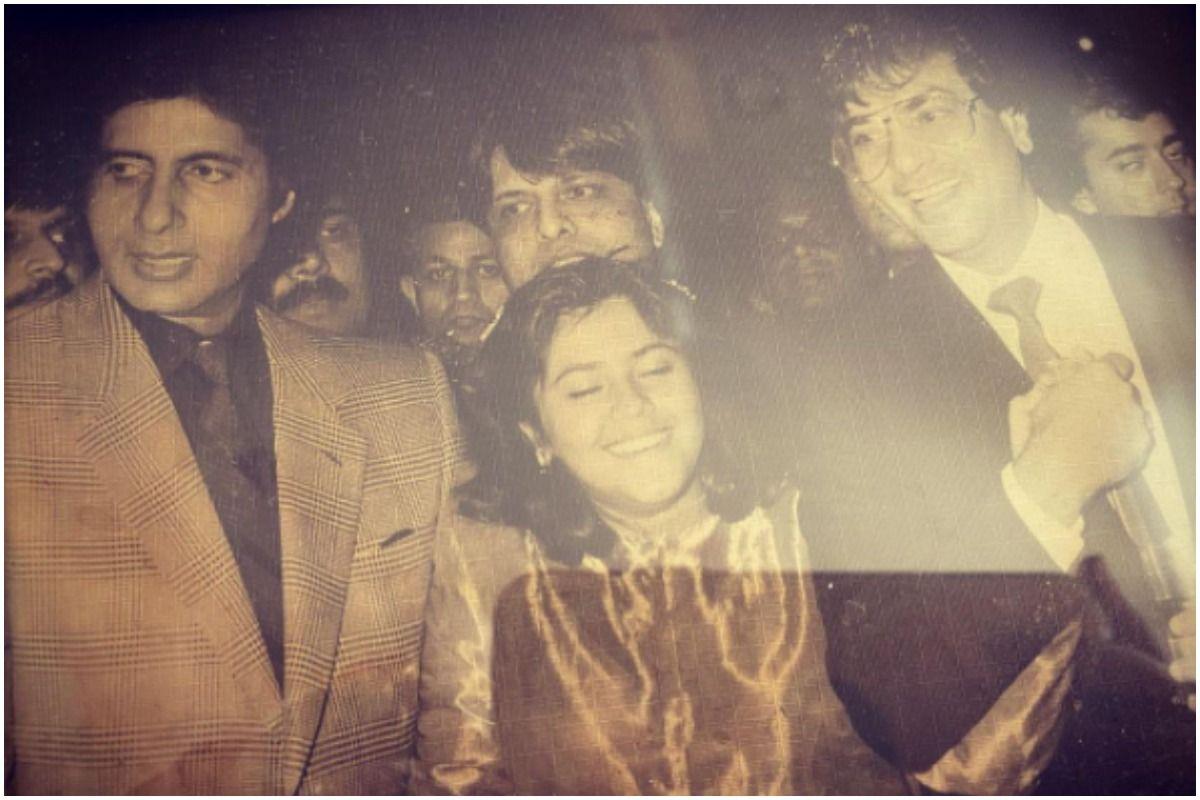 Ekta Kapoor Welcomes Amitabh Bachchan With