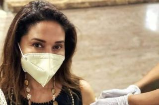 Madhuri Dixit Receives Second Jab of COVID Vaccine, Urges Everyone to Get Vaccinated