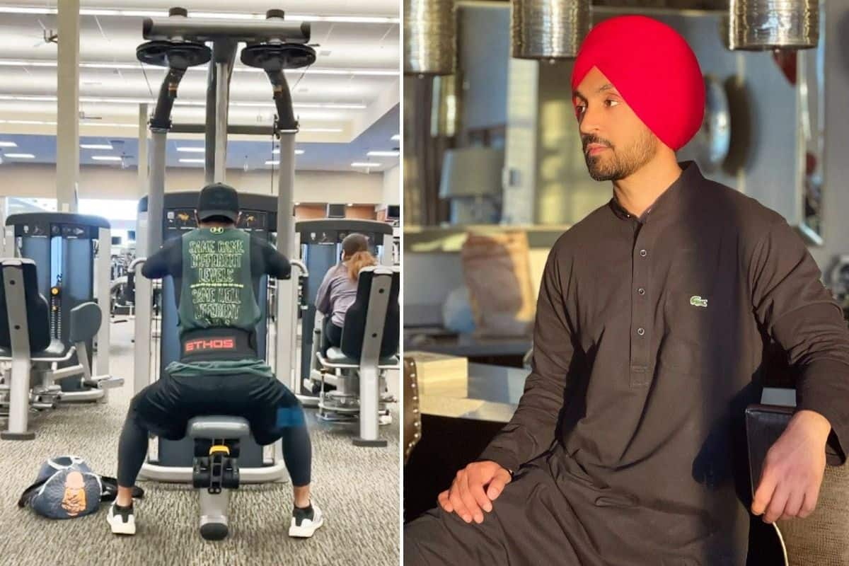 Diljit Dosanjh Leaves Fans Wondering Yaha Kab Gyms Khulenge As He Shares His Workout Video