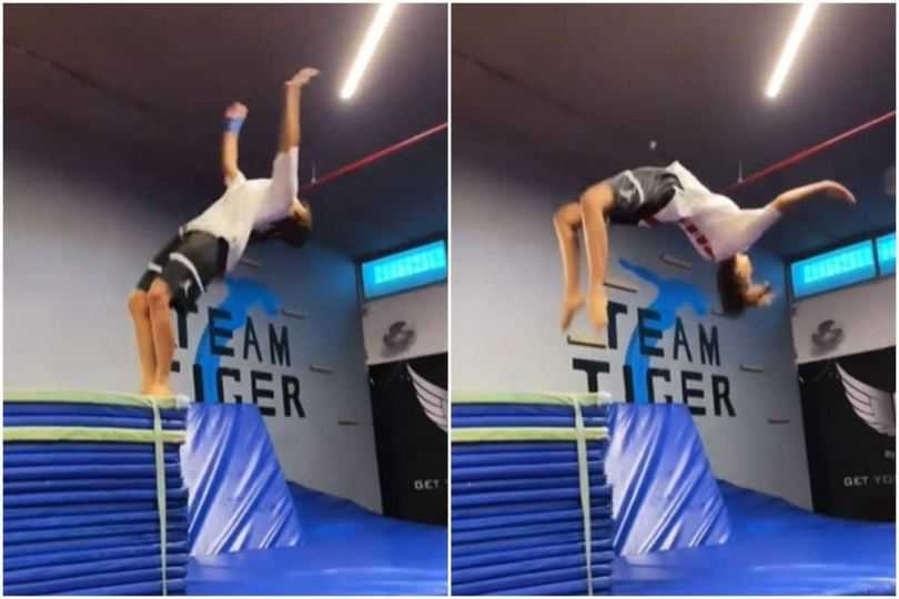 Disha Patani Does Smooth Like Butter Backflip On BTS Latest Single Butter