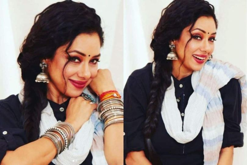 Rupali Ganguly Slips Into Weekend in Simply Gorgeous And Elegant Ethnic Look