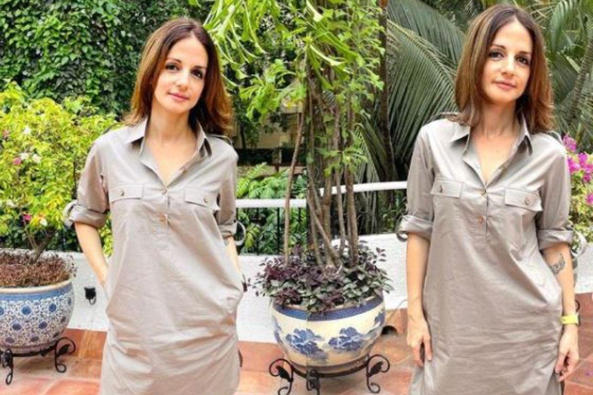 Sussanne Khan Makes Fashion Statement In Gender-Fluid Pathani Suit, Hrithik Roshan Drops Comment