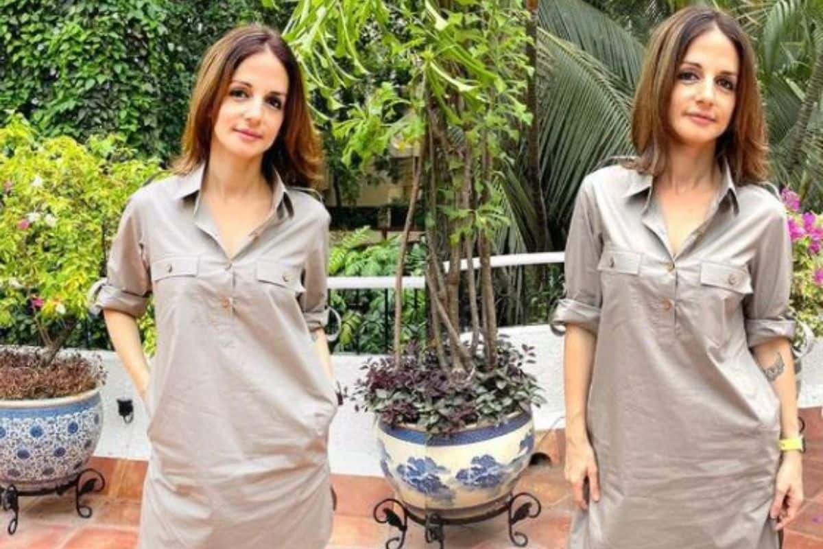 Sussanne Khan Makes Fashion Statement In Gender-Fluid Pathani Suit, Hrithik Roshan Drops Comment