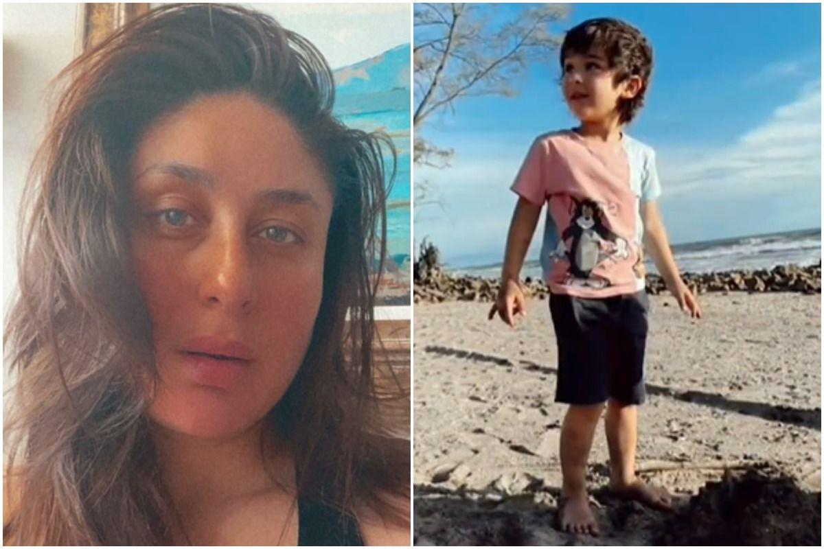 Kareena Kapoor Khan Little Taimur Tries To Heal Nature With His Cute Ways