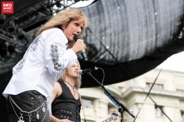 Whitesnake la Rock The City 2011 în Piața Constituției