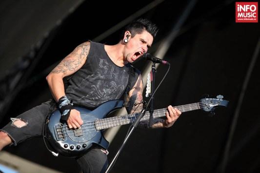Bullet For My Valentine în concert la Rock The City pe 28 iulie 2013