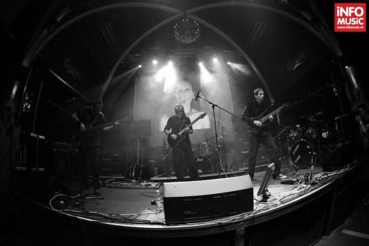 Trupa Blindead în concert la Silver Church pe 21 octombrie 2013