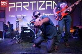 Trupa Partizan in concert in Club Control pe 5 decembrie 2013