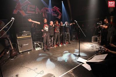 Primul concert al trupei KEMPES