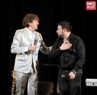 Goran Bregovici și Florin Salam în concert la Sala Palatului (6 martie 2014)