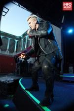 Billy Idol în concert la București pe 29 iunie 2014