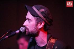 Solistul FIRMA, Daniel Rocca, în concert în Control Club