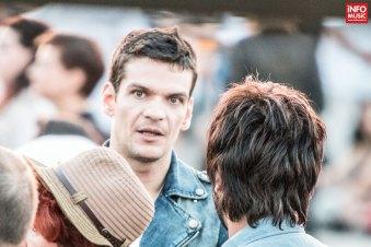 Tudor Chirilă, printre spectatorii concertului Thirty Seconds to Mars de la Bucuresti - 5 iulie 2014