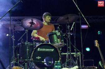 Will Hull-Brown, toboșarul The Cat Empire, în concert la Arenele Romane din București