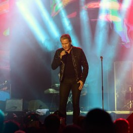 Concert Johnny Logan la Polivalenta Bucuresti 2014