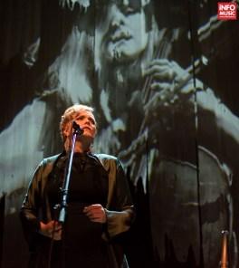 Ane Brun în primul concert la Sala Radio din București pe 10 mai 2015