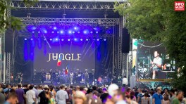 Jungle în concert la SummerWell pe 9 august 2015