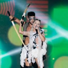 Corina și Dorian Popa la Media Music Awards 2015