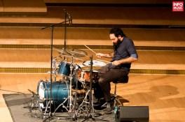 Bateristul Daniel Dor alături de Avishai Cohen Trio în concert la Sala Radio pe 10 octombrie 2015