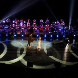 Dan Byron alături de Alexandra Ușurelu în concertul #PUR de pe 18 ianuarie 2016