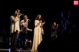 Trupa Blue Noise alături de Alexandra Ușurelu în concertul #PUR de pe 18 ianuarie 2016