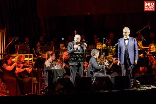 Andrea Bocelli în concert la București (22 iunie 2017)