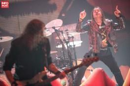 Helloween sustine un concert la Romexpo