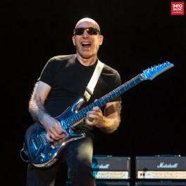 Joe Satriani în concert la Arenele Romane pe 25 iulie 2018