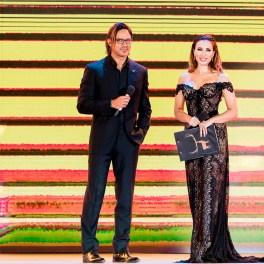 Iulia Vântur și Gabriel Garko la Cerbul de Aur 2018 - A treia seara de Festival