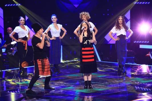 Dora Gaitanovici si Roman de la Zdob si Zdub în finala Vocea României 2018