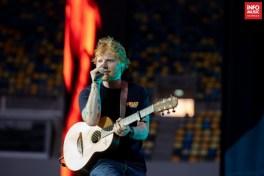 Ed Sheeran în concert la București pe 3 iulie 2019