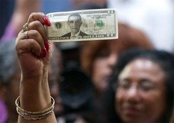 Congress Passes Bankster Consolidation Bill  obamadollar