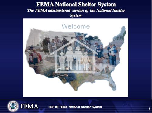 FEMA Shelter Support
