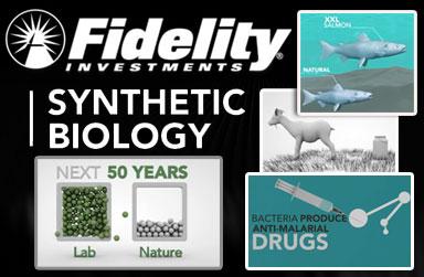 Fidelity Investments Financiación Pública de Adquisición Biología Sintética de la vida la fidelidad biología sintética sustituir a la vida natural