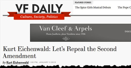 Vanity Fair Headline
