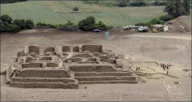 The destruction comes five months after archaeologists found a temple on the archaeological site, known as El Paraiso. Photograph: Peruvian Ministry of Culture
