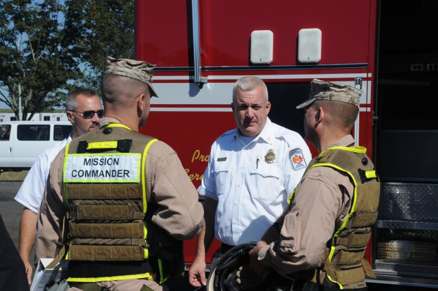 "Capital Shield 14 trained first responders to ""perfect their skills"""